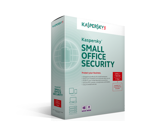 Kaspersky(企業版)- Kaspersky Small Office Security 4