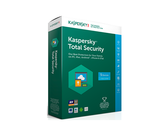 Kaspersky(個人版)- Kaspersky Total Security